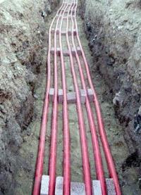прокладка силовых кабелей. Балахнинские электрики.